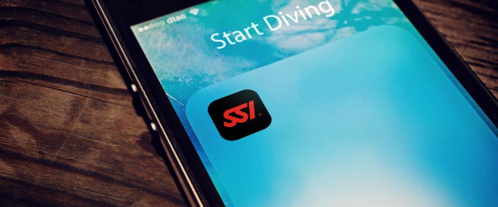 App para IOS y Android de SSI para poder descargar todos tus manuales, registrarte en tu centro de buceo y mucho más