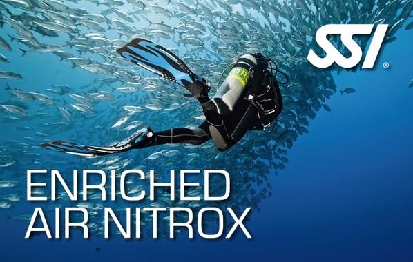 Especialidad Nitrox SSI en Buceo Getafe