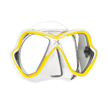 Máscara Mares X-Vision Amarilla