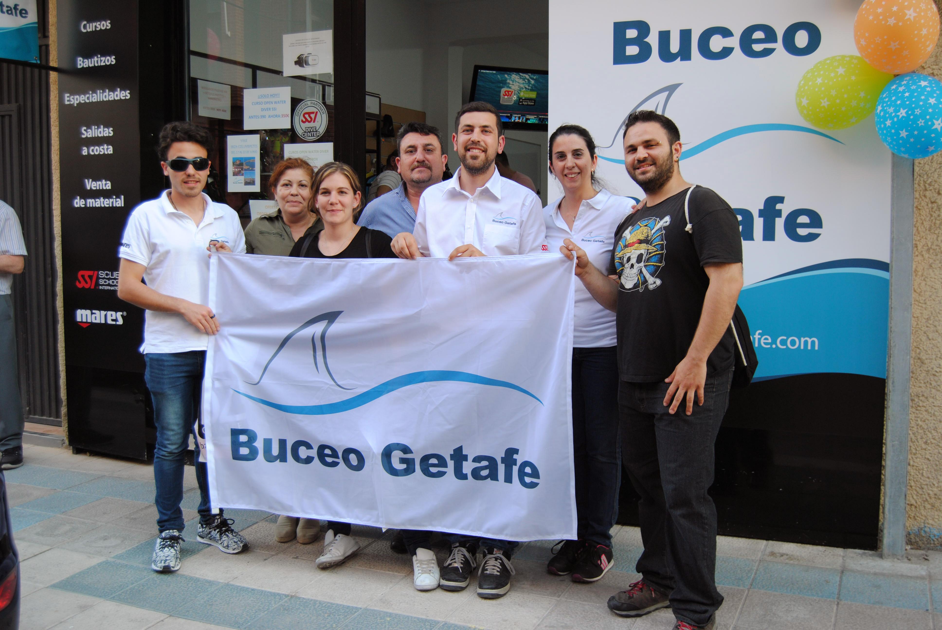 Inauguracion Tienda Centro Buceo Getafe