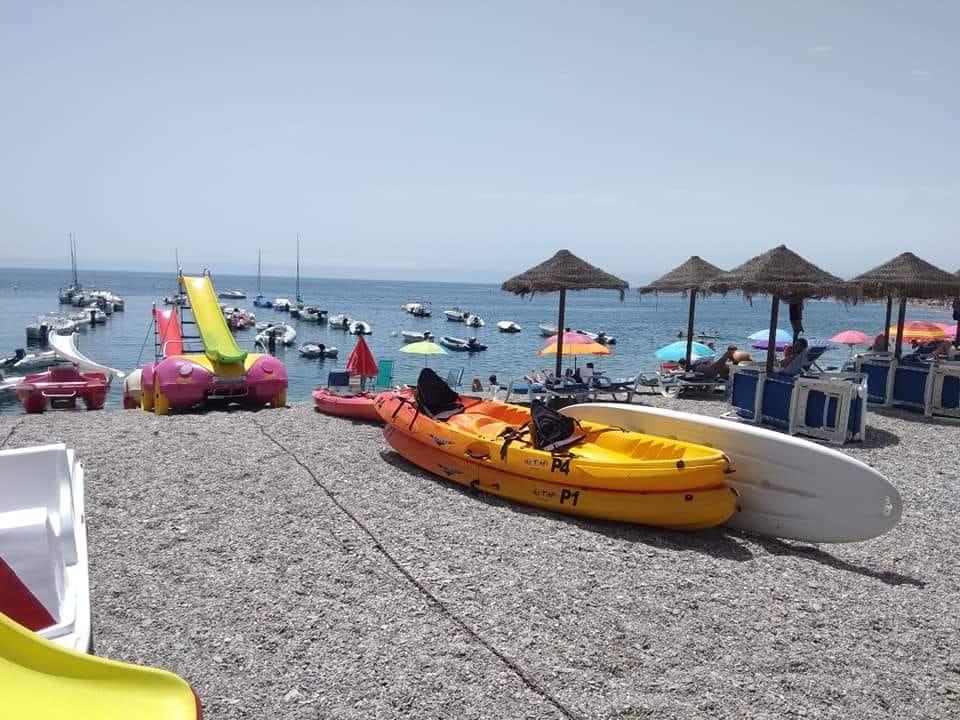 Kayak en Calahonda